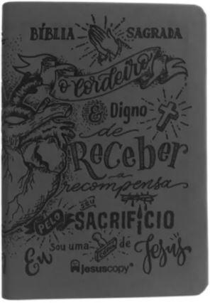 BÍBLIA LETTERING LUXO   CHUMBO  - Loja Amo Família