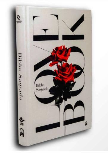 Bíblia Love Book Rosa (Livro do Amor) - NAA  - Loja Amo Família