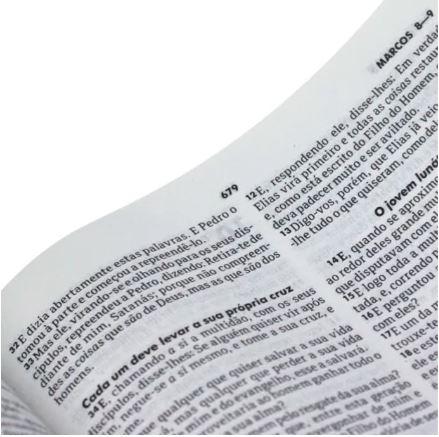 BIBLIA MISSIONARIA CAPA DURA PRETA  - Loja Amo Família