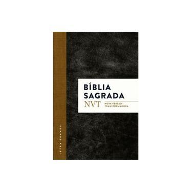 BIBLIA NVT LETRA GRANDE CAPA DURA REF  - Loja Amo Família