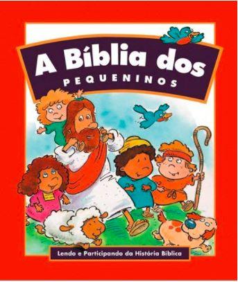 Bíblia Sagrada Infantil Dos Pequeninos - Editora Hagnos  - Loja Amo Família