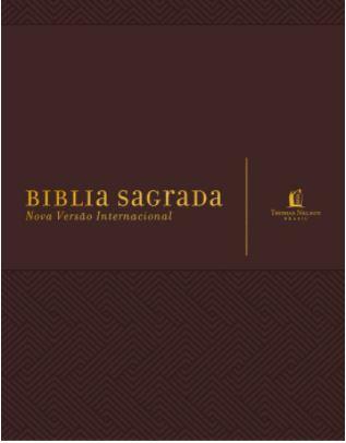 Bíblia Sagrada - Sua Bíblia Para Anotação - Marrom  - Loja Amo Família