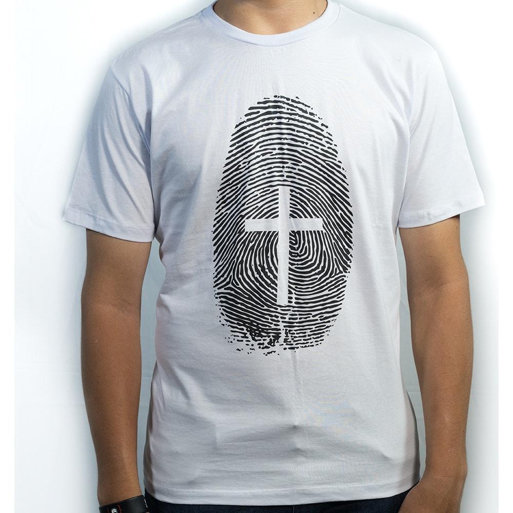 Camiseta Digital de Jesus masculina  - Loja Amo Família