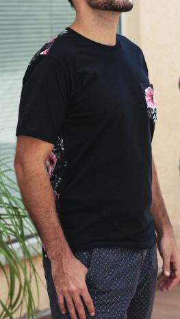 Camiseta Família Floral Masculina  - Loja Amo Família