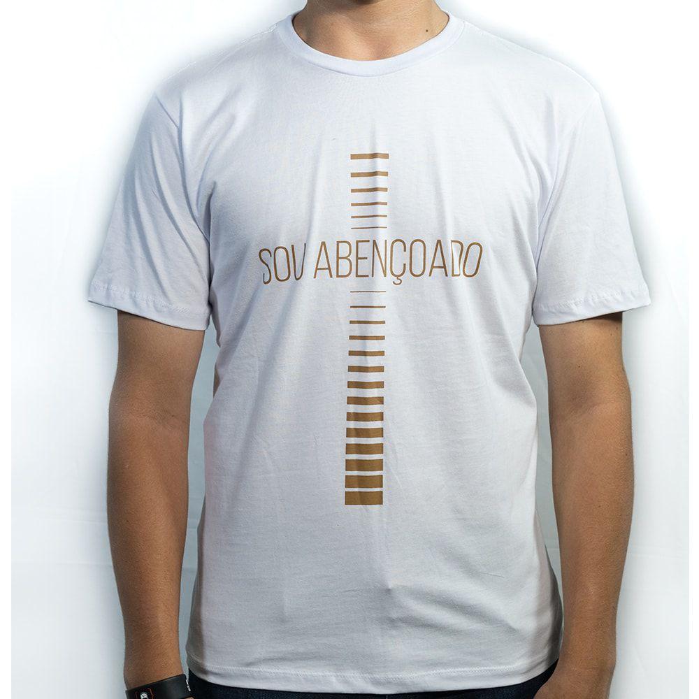 Camiseta Sou Abençoado  - Loja Amo Família
