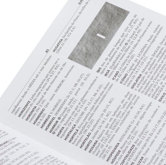 Dicionário da Bíblia de Almeida  - Loja Amo Família