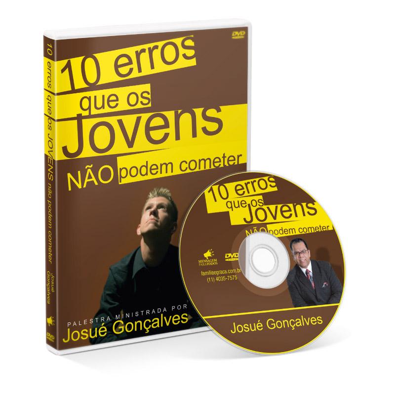 DVD - 10 Erros que os Jovens não podem cometer  - Loja Amo Família