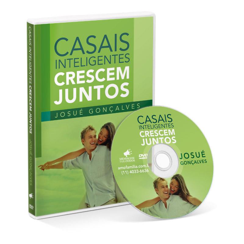 DVD - Casais Inteligentes Crescem Juntos  - Loja Amo Família