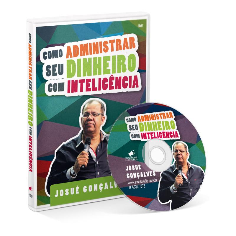 DVD - Como administrar seu dinheiro com inteligência  - Loja Amo Família