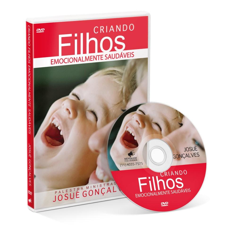 DVD - Criando Filhos Emocionalmente Saudáveis  - Loja Amo Família