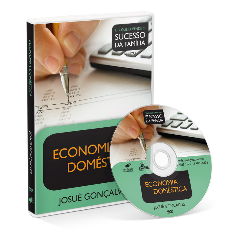 DVD - Economia Doméstica  - Loja Amo Família
