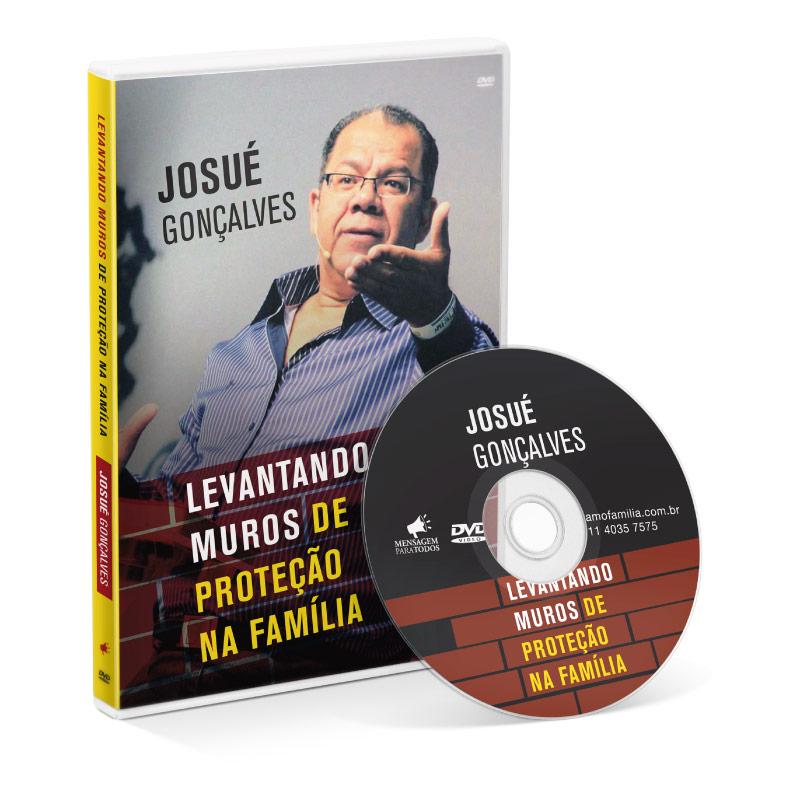 DVD - Levantando muros de proteção da Família  - Loja Amo Família
