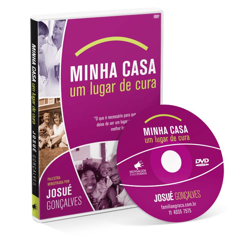 DVD - Minha casa um lugar de cura  - Loja Amo Família