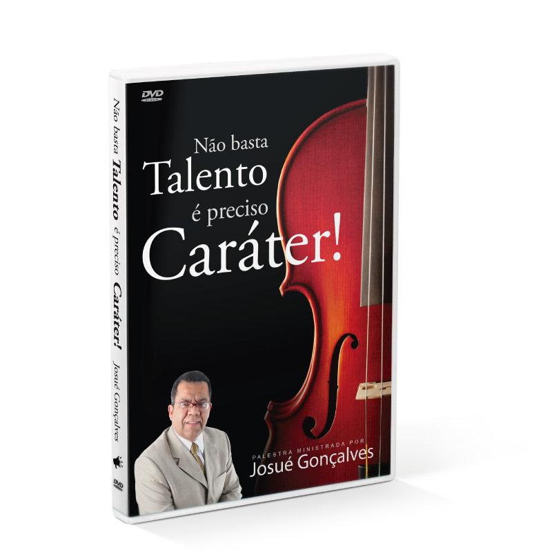 DVD - Não Basta Talento é Preciso Caráter  - Loja Amo Família