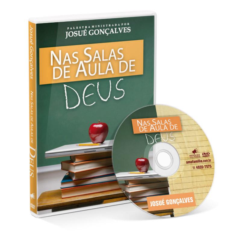 DVD - Nas salas de aula de Deus  - Loja Amo Família
