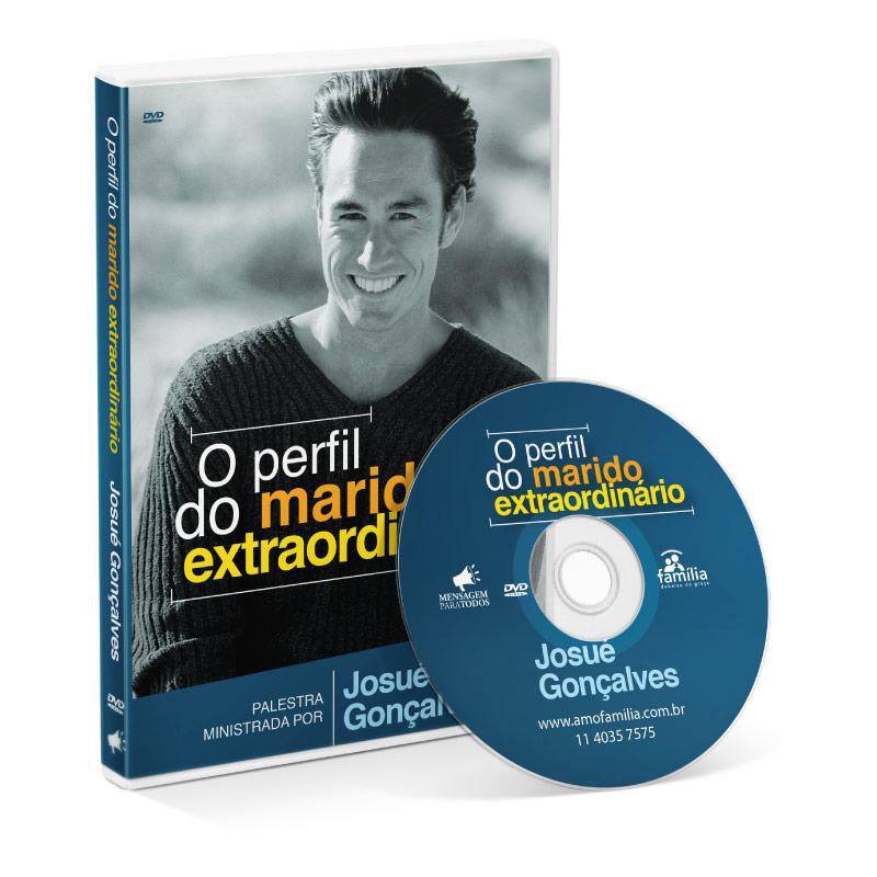 DVD - O perfíl do marido extraordinário  - Loja Amo Família