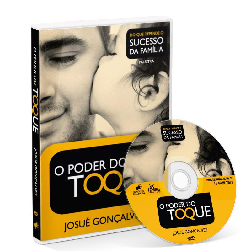 DVD - O poder do toque  - Loja Amo Família