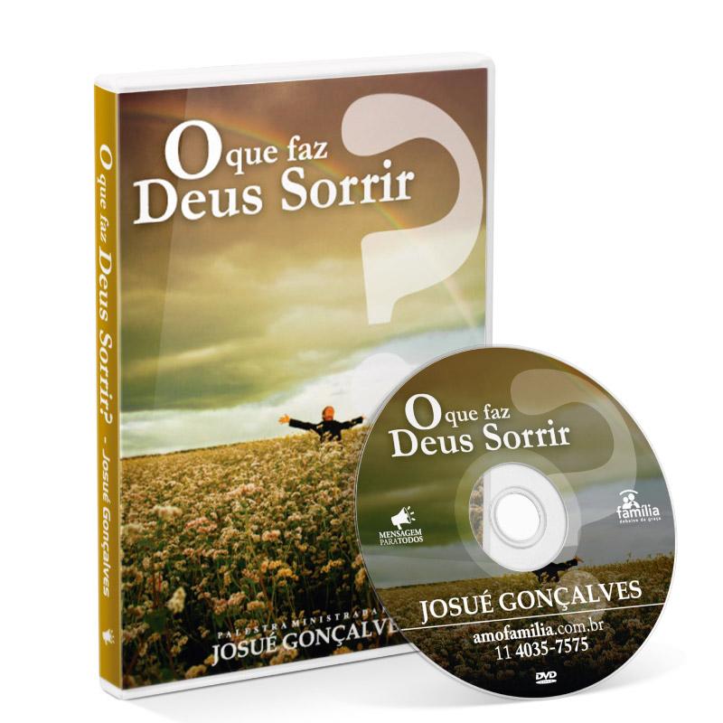 DVD - O que faz Deus sorrir  - Loja Amo Família