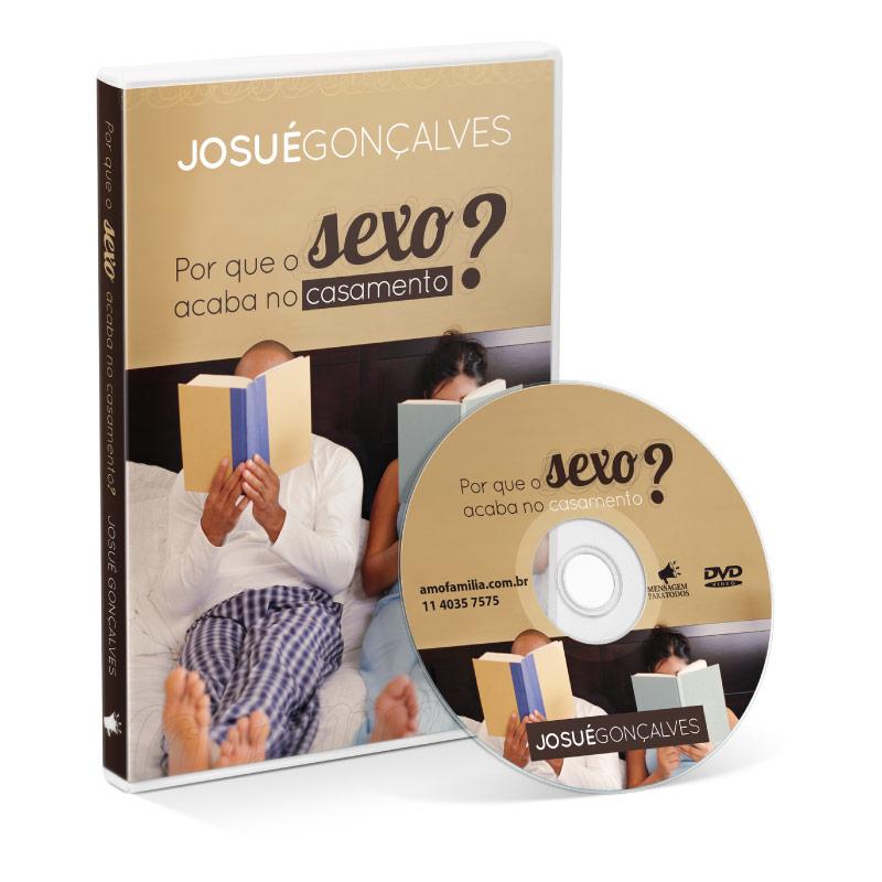 DVD - Por que o sexo acaba no casamento  - Loja Amo Família