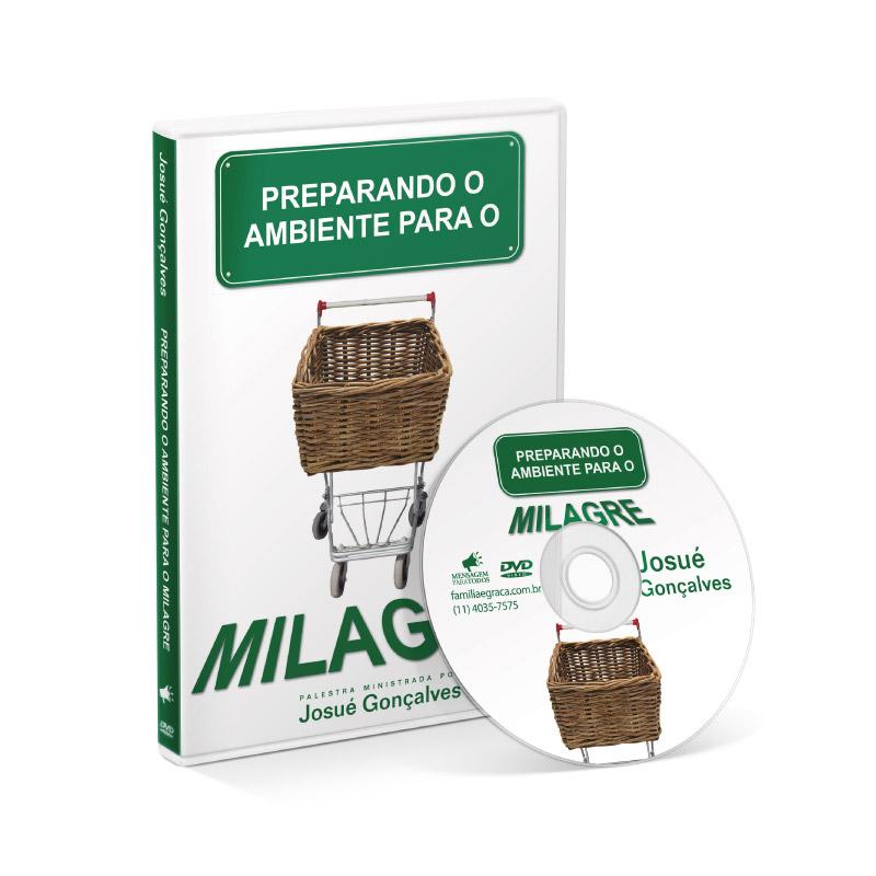 DVD - Preparando o ambiente para o milagre  - Loja Amo Família