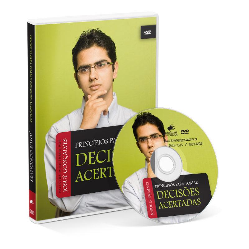 DVD - Principios para tomar Decisões Acertadas  - Loja Amo Família