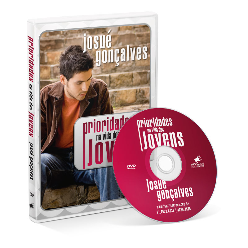 DVD - Prioridades na vida dos jovens  - Loja Amo Família