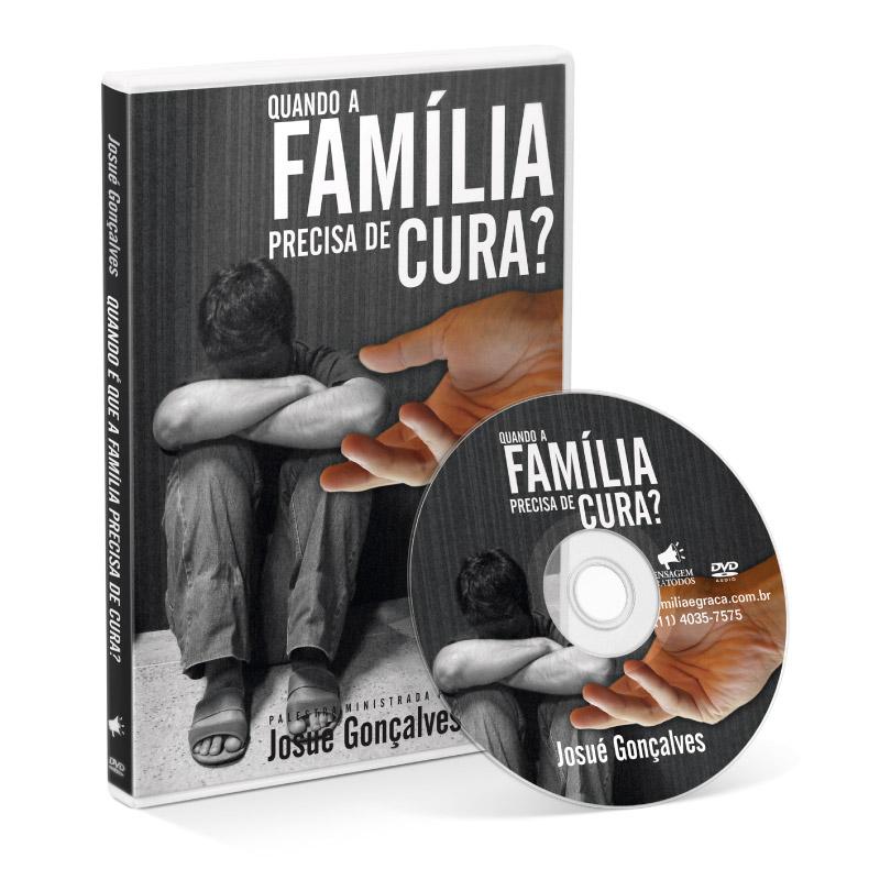 DVD - Quando a família precisa de cura?  - Loja Amo Família