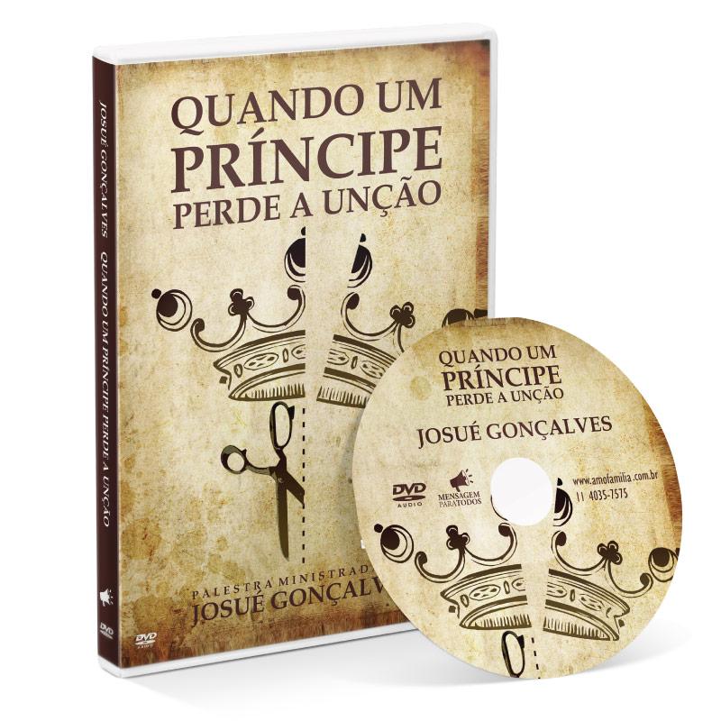 DVD - Quando um Príncipe perde a unção  - Loja Amo Família