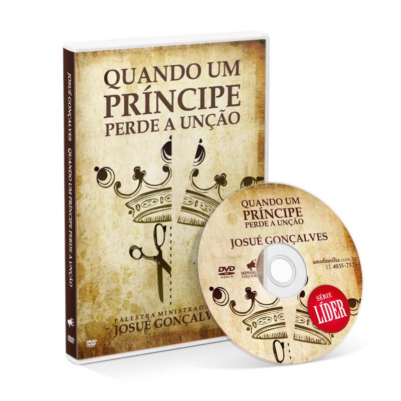 DVD - Quando um Príncipe perde a unção SÉRIE LÍDER  - Loja Amo Família