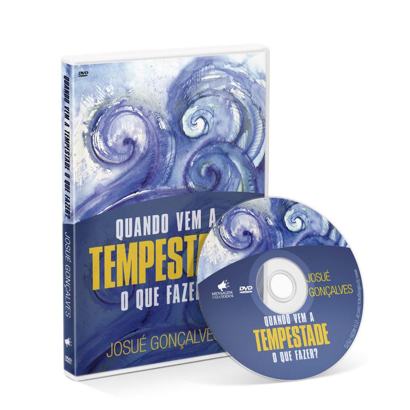 DVD - Quando vem a Tempestade o que fazer?  - Loja Amo Família