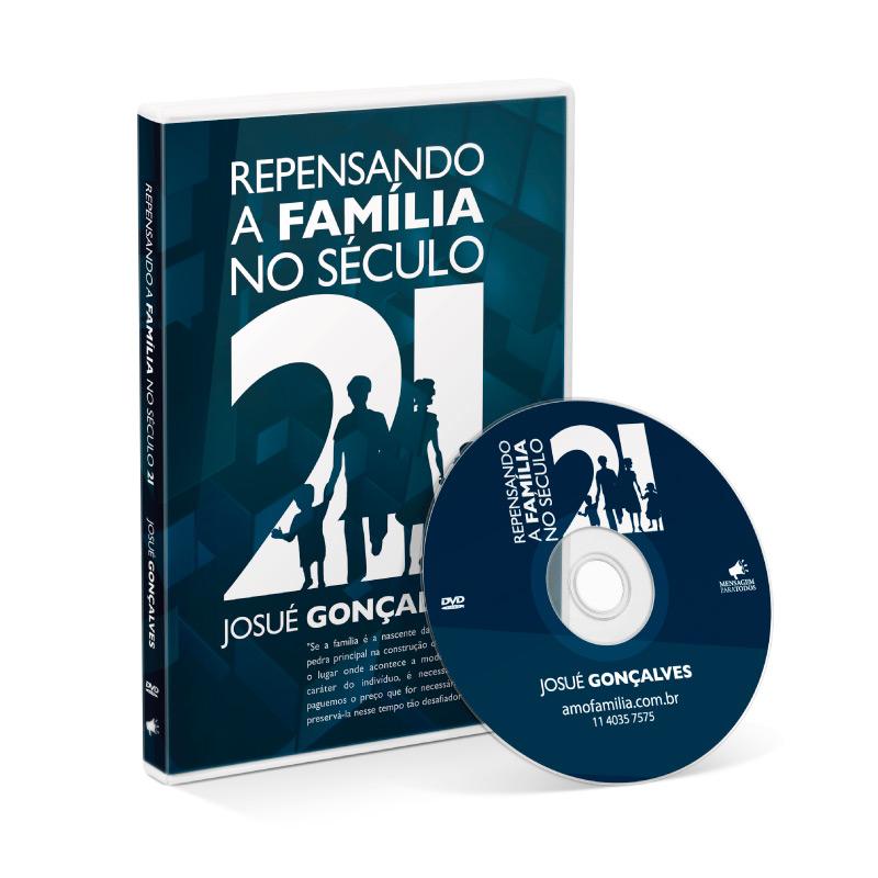 DVD - Repensando a família no século XXI  - Loja Amo Família