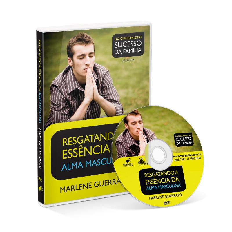 DVD - Resgatando a Essência da alma masculina  - Loja Amo Família