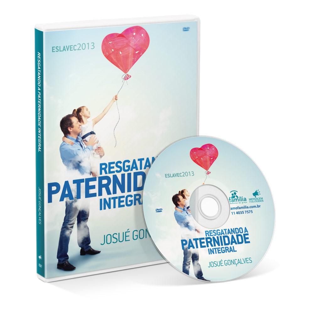 DVD - Resgatando a paternidade integral  - Loja Amo Família