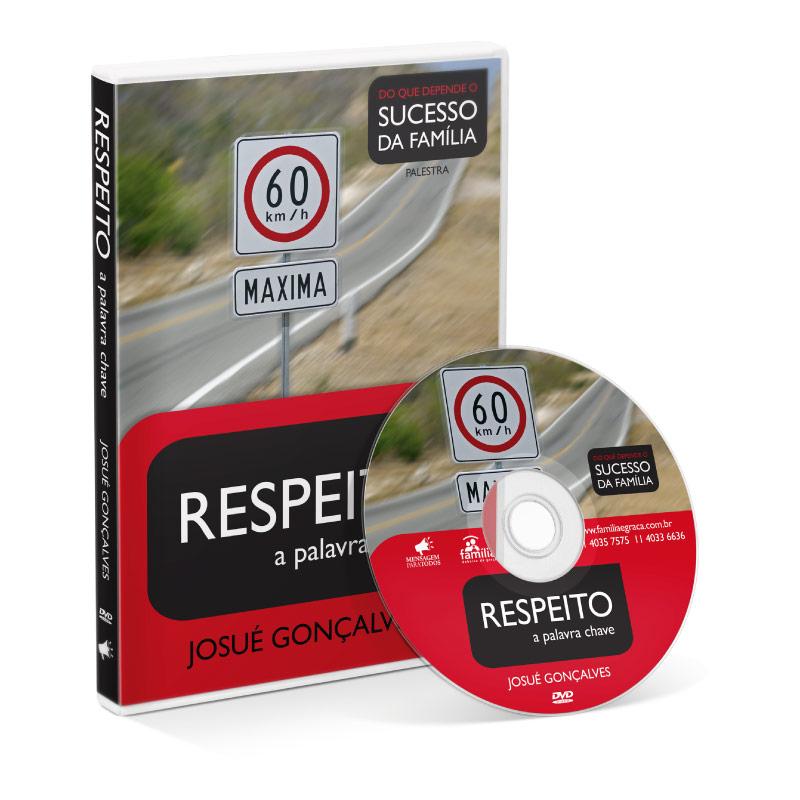 DVD - Respeito a palavra chave  - Loja Amo Família