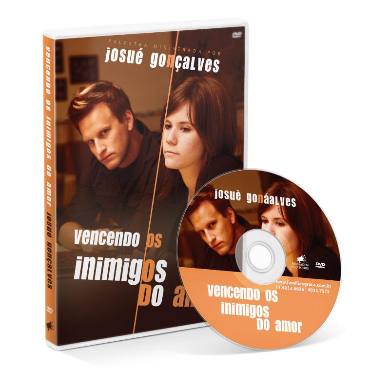 DVD - Vencendo os inimigos do amor  - Loja Amo Família