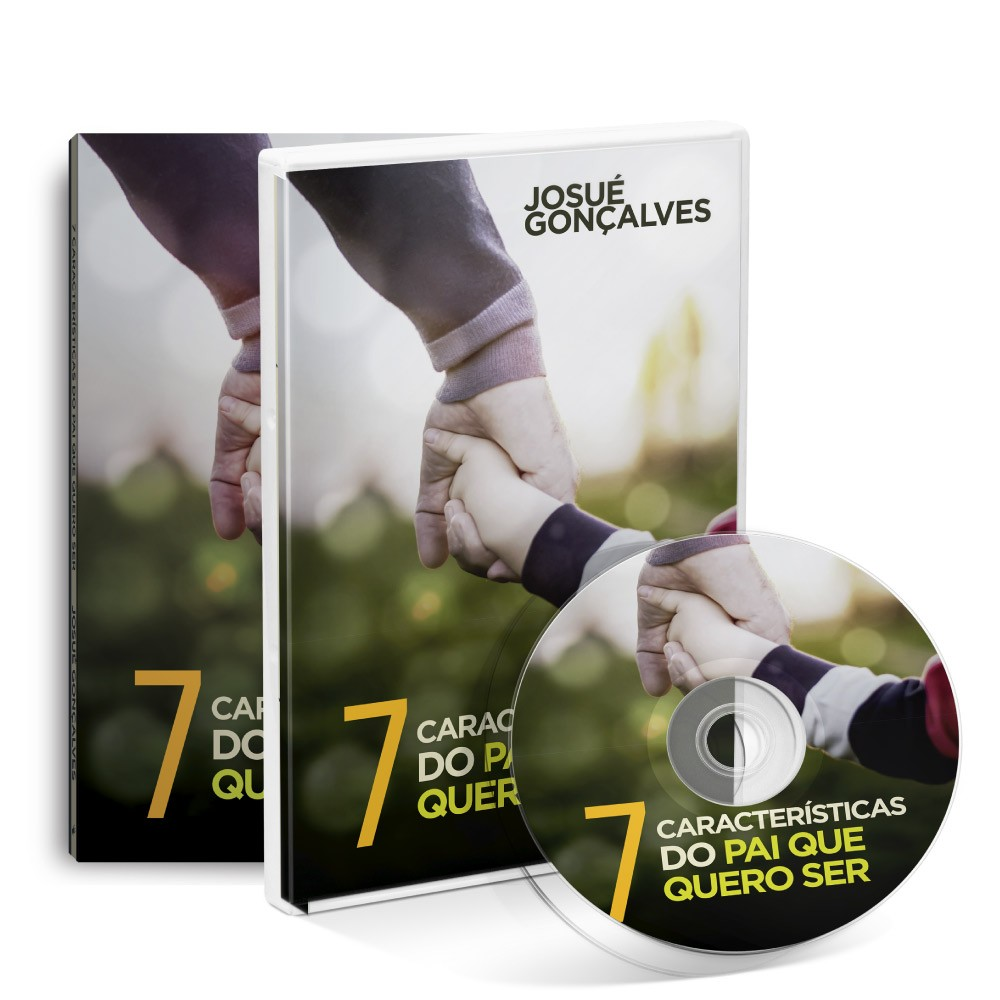 Kit Livro + Dvd  7 Características do pai que quero ser  - Loja Amo Família