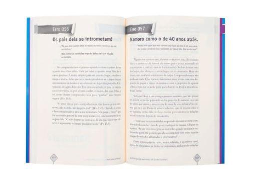 Livro -  101 Erros Que Os Namorados Não Podem Cometer   Josué Gonçalves  - Loja Amo Família