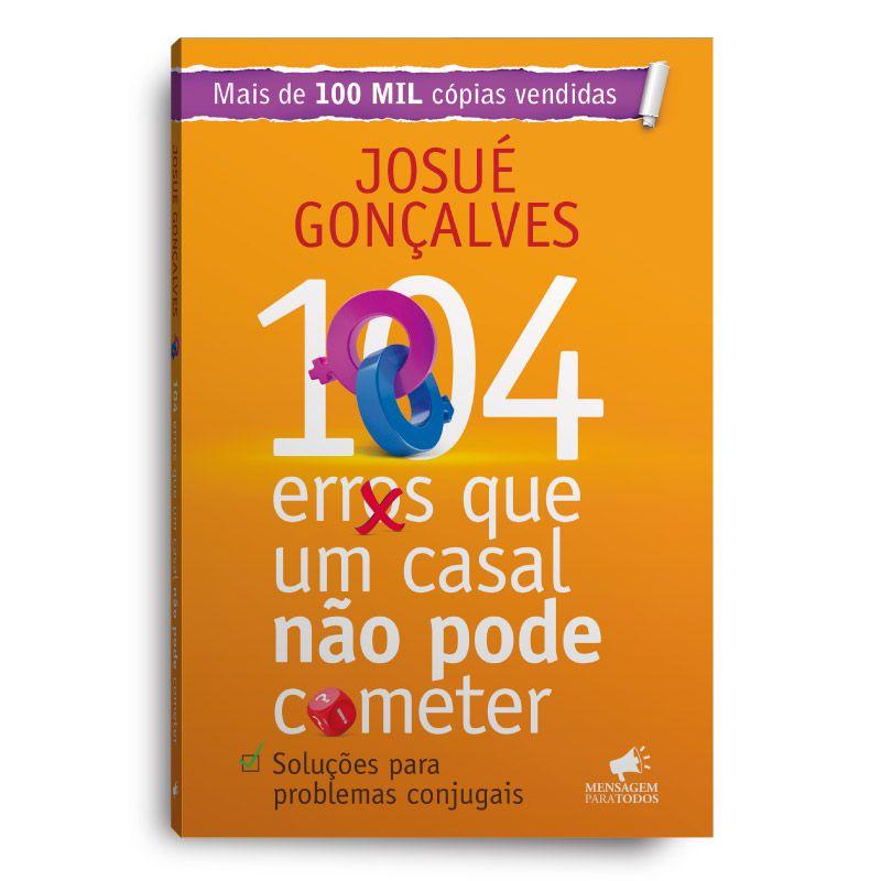 Livro - 104 erros que um casal não pode cometer