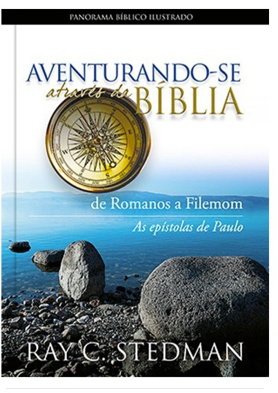 Livro -  Aventurando-se Através da Bíblia - Romanos  - Loja Amo Família