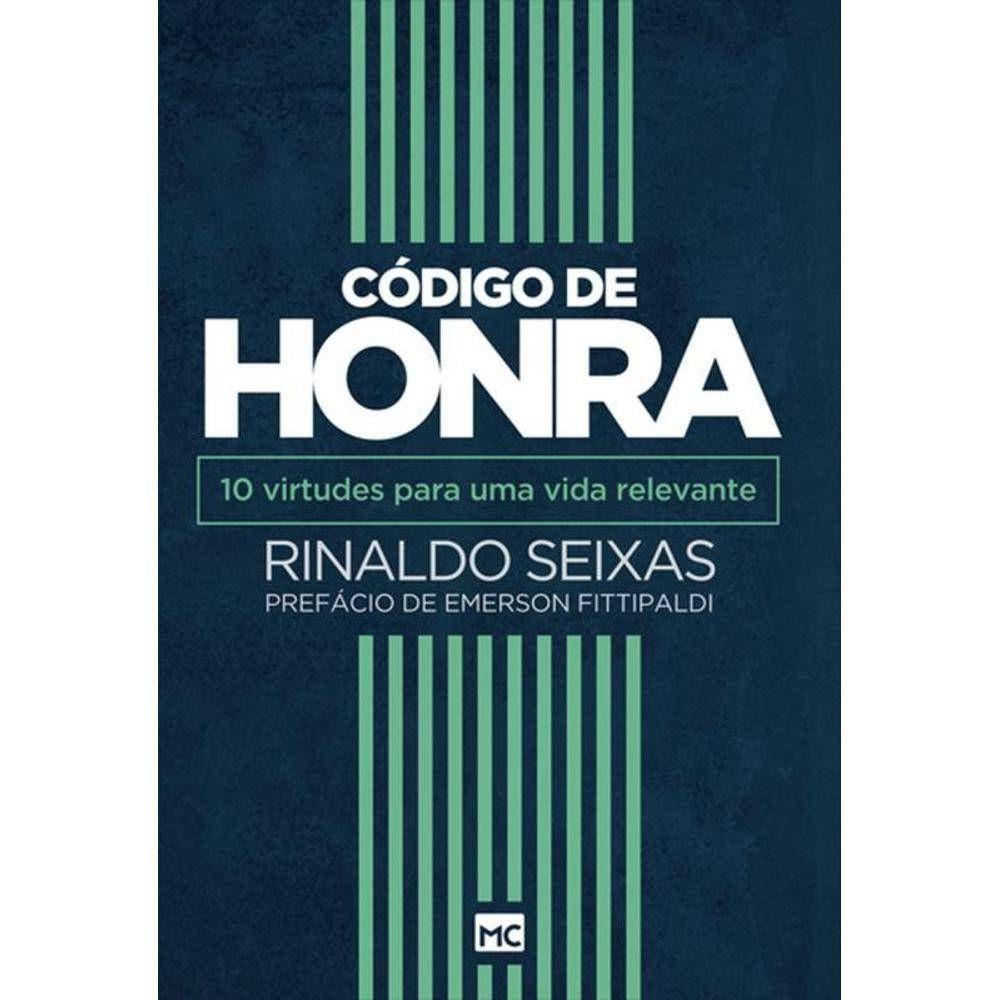 LIVRO- CÓDIGO DE HONRRA  - Loja Amo Família