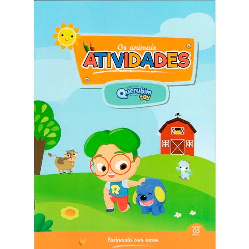 LIVRO DE ATIVIDADES QUER.- ANIMAIS - 9693  - Loja Amo Família