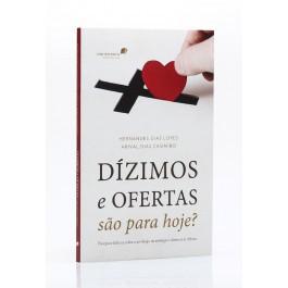 LIVRO- DIZIMOS E OFERTAS SÃO PARA HOJE  - Loja Amo Família
