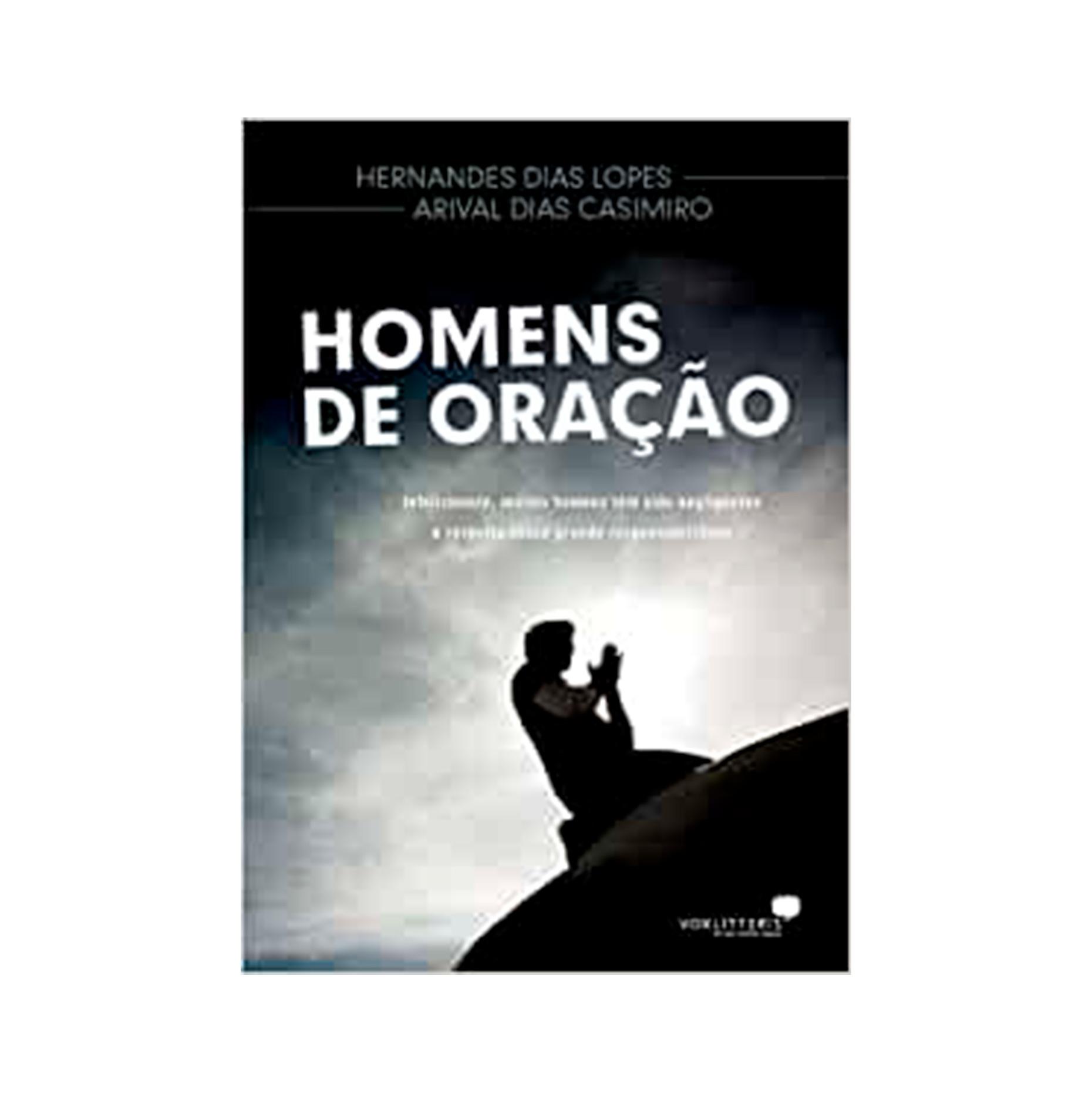 LIVRO- HOMENS DE ORACAO - HAGNOS  - Loja Amo Família