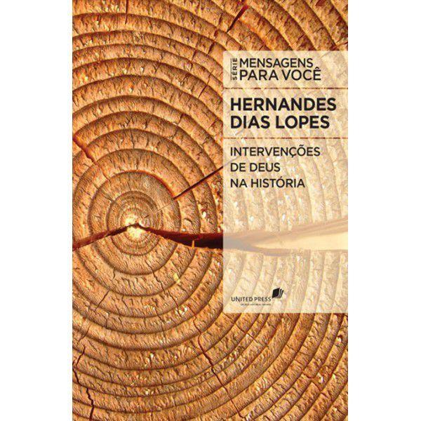 LIVRO- INTERVENCOES DE DEUS NA HISTORIA - HAGNOS