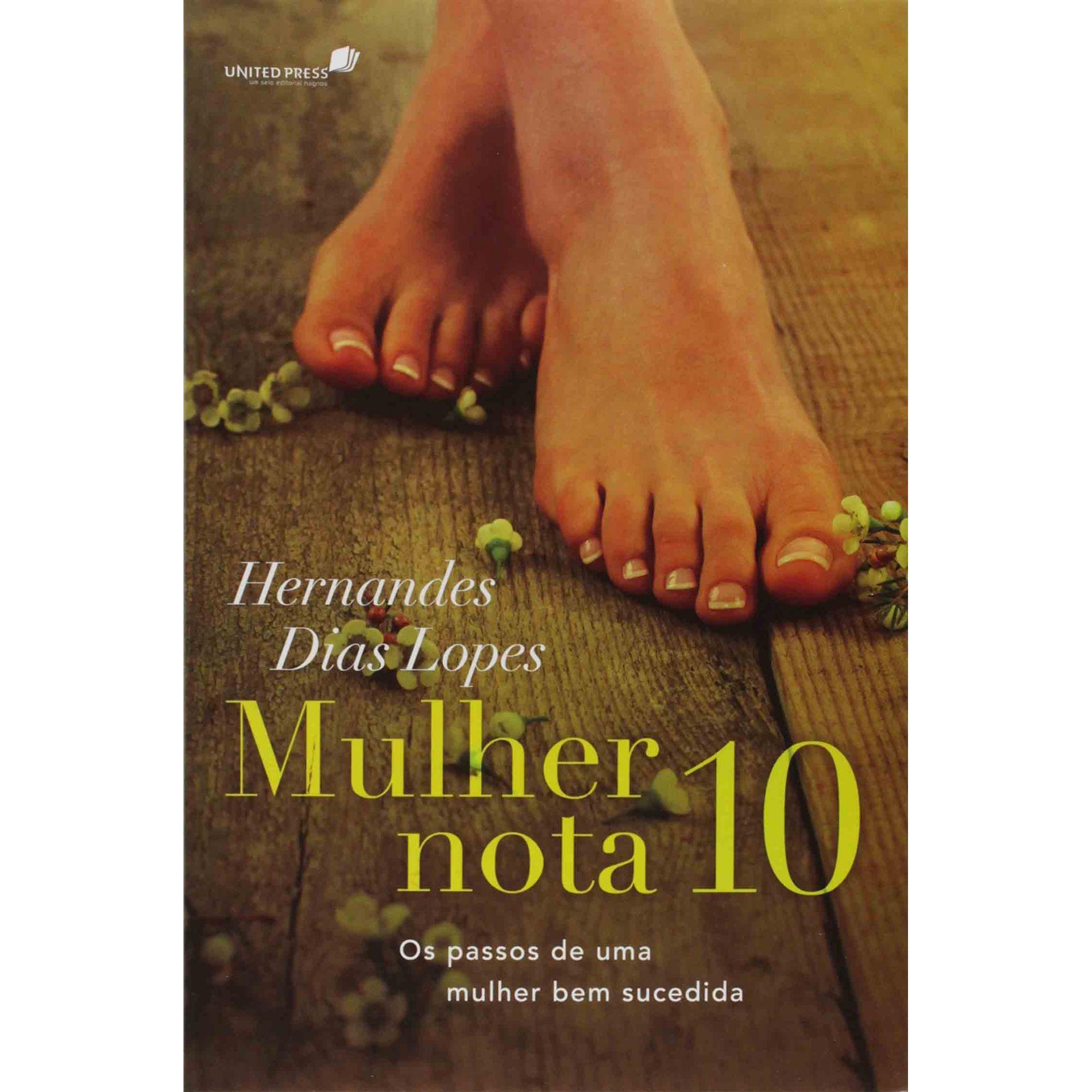 LIVRO- MULHER NOTA 10  - Loja Amo Família