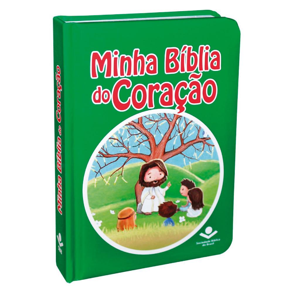 Minha Bíblia do Coração (CP Dura Almofada Ilustrada.)  - Loja Amo Família