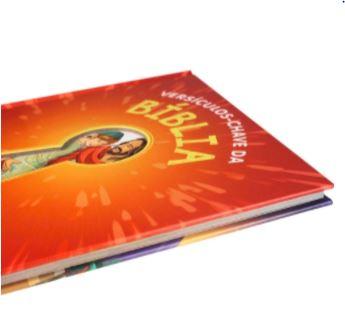 Versículos - Chave da Bíblia - Capa Dura Ilustrada  - Loja Amo Família