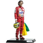 Miniatura Action Figure Ayrton Senna 1993 Brazil Grand Prix 1/6 Live Legend- Iron Studios - CD