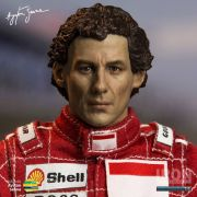 Miniatura Action Figure Ayrton Senna 1993 Brazil Grand Prix 1/6 Live Legend- Iron Studios