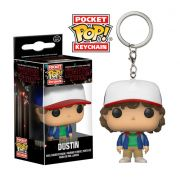 PRÉ VENDA: Pocket Pop Keychains (Chaveiro) Dustin: Stranger Things - Funko